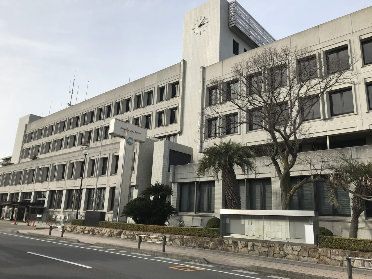 新型コロナウイルスの影響でイベントを中止した桑名市役所