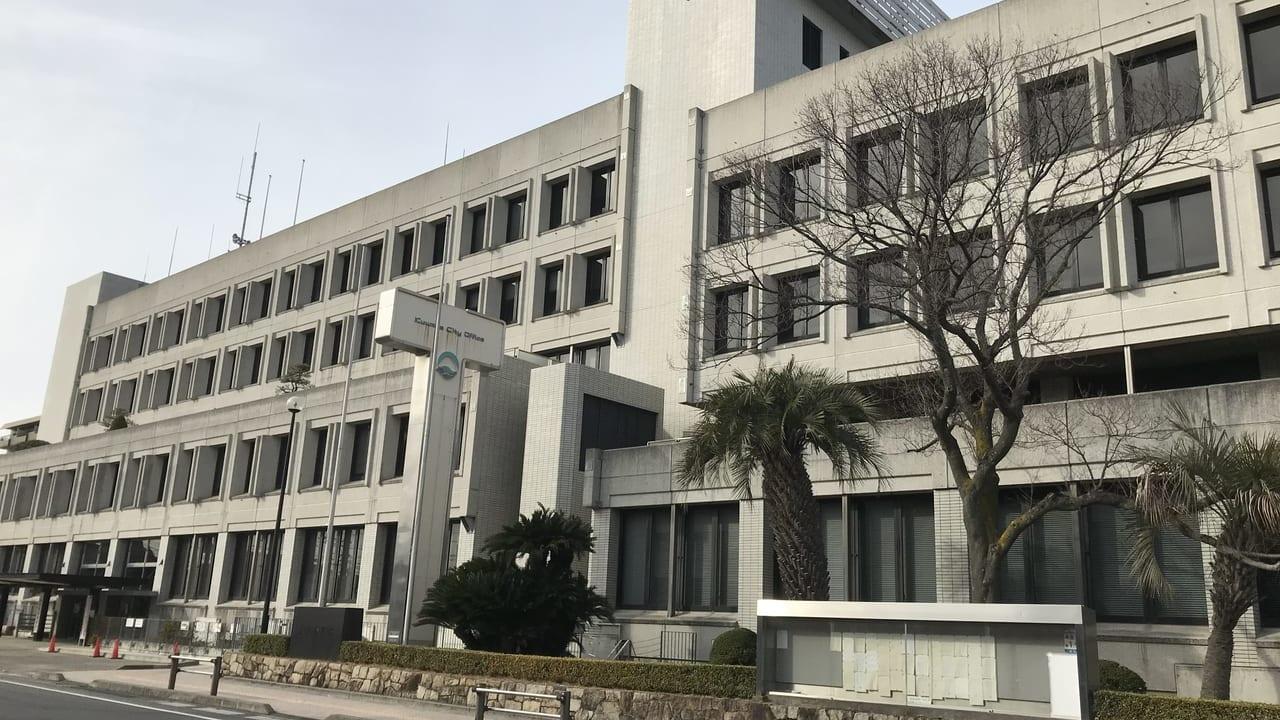 3月2日より公立幼稚園・小中学校の休園休校を発表した桑名市役所