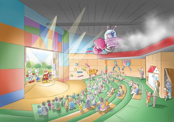 名古屋アンパンマンミュージアムに新設されるやなせたかし劇場